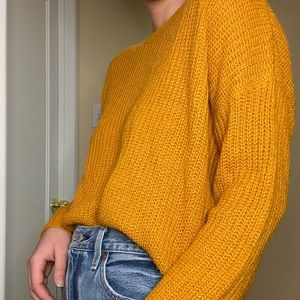 Forever 21 burnt orange sweater